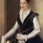 Isabella de' Medici Orsini con un cane (early 1560s)