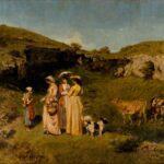 Jeunes femmes du village (1851-1852)