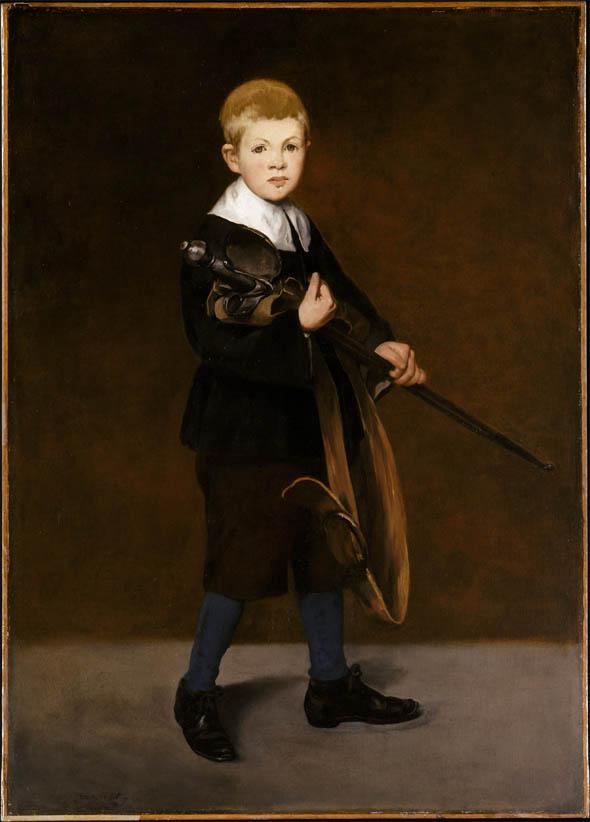 L'Enfant à l'épée (1861)