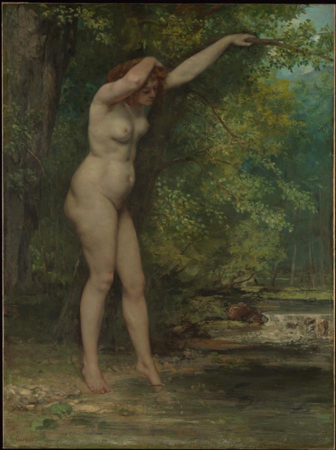 La jeune baigneuse (1866)