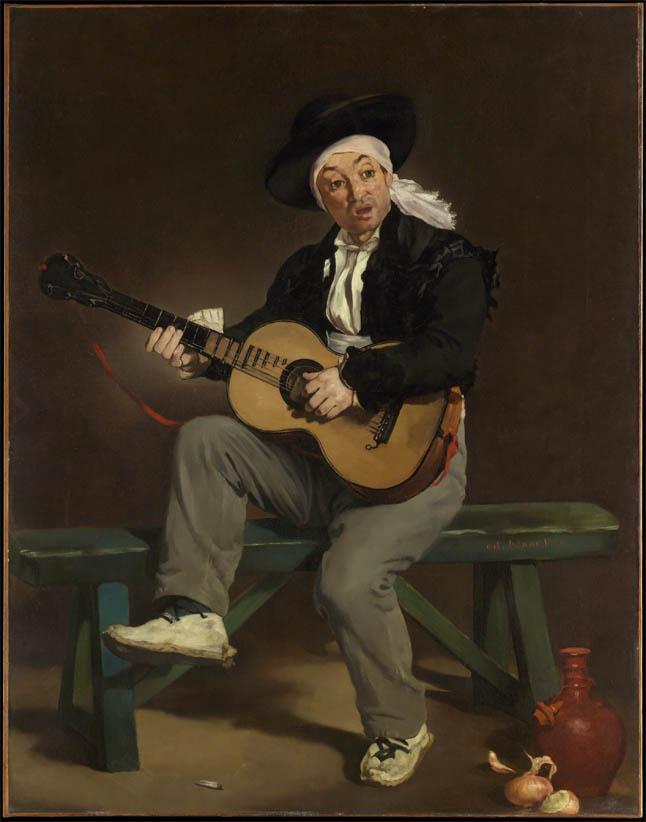 Le Chanteur espagnol (1860)