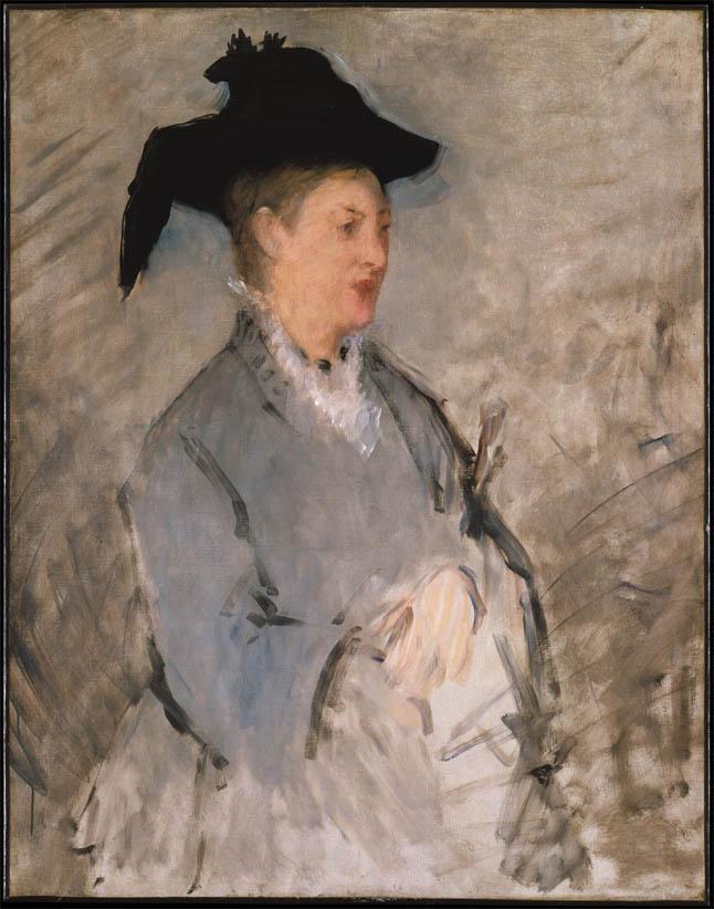 Madame Édouard Manet (c 1873)
