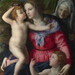 Madonna e Bambino con santi (c 1540)