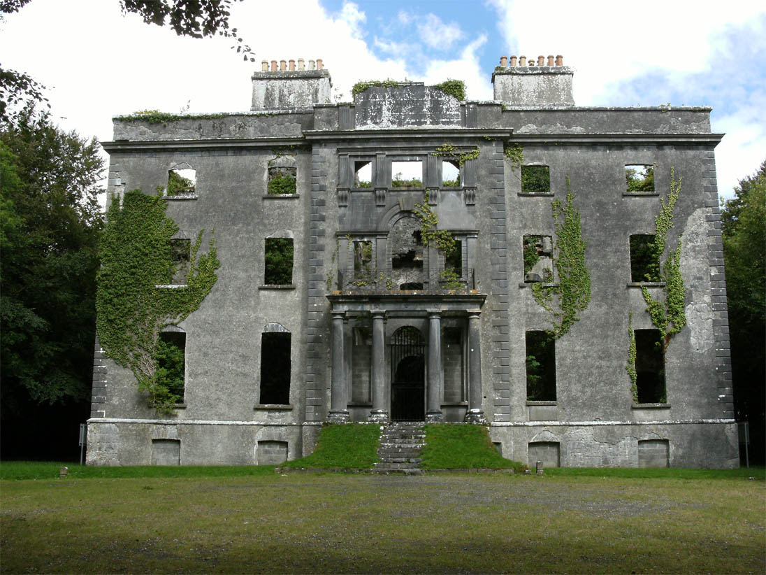 Moore Hall, County Mayo (Ireland)
