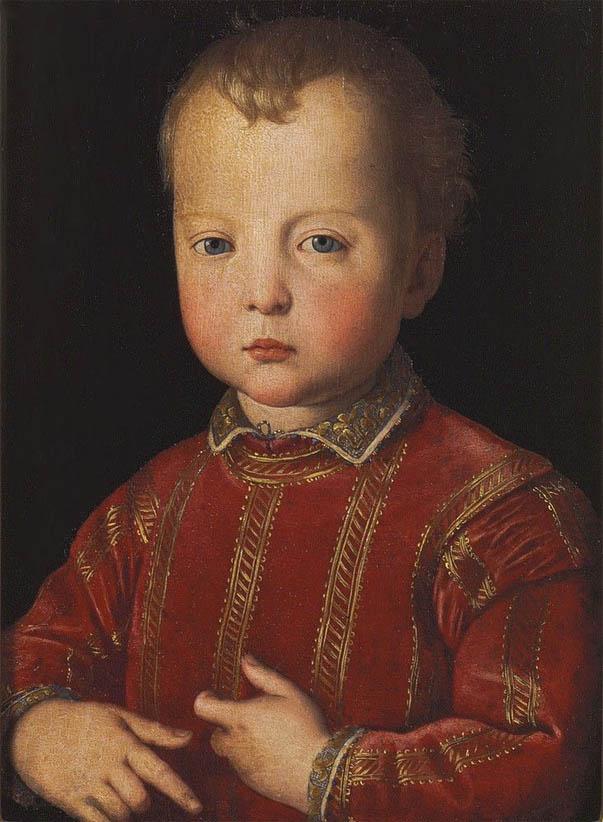 Ritratto di Don Garzia de' Medici bambino (c 1551)