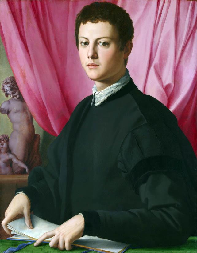 Ritratto di giovane uomo (1550-1555)