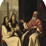 San Jerónimo con Santa Paula y San Eustoquio (1640-1650)