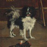 Tama, le chien japonais (c 1875)