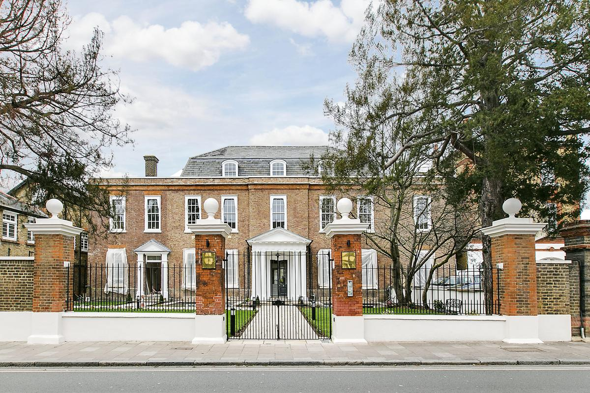 The Limes, previously referred to as Mortlake Terrace