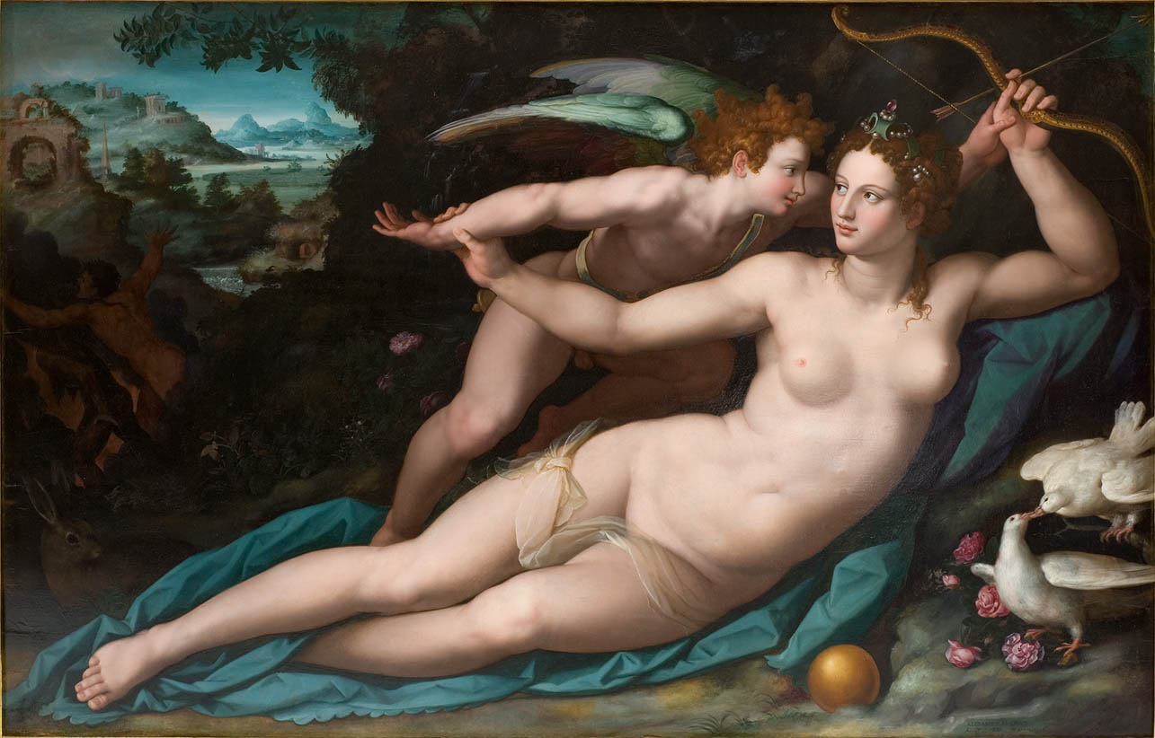 Venere e Cupido (after 1570)