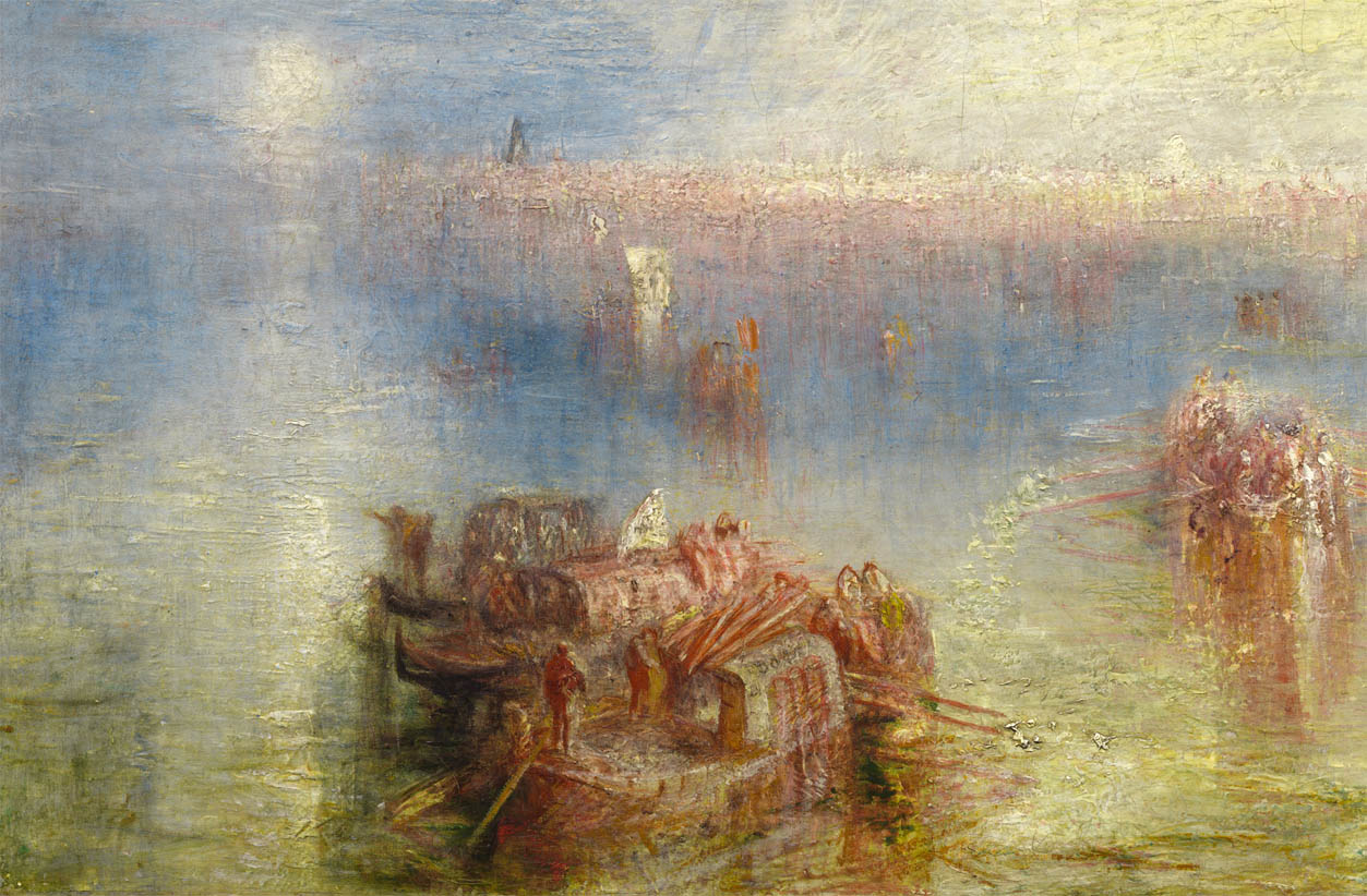 Approach to Venice (1844-d-2)