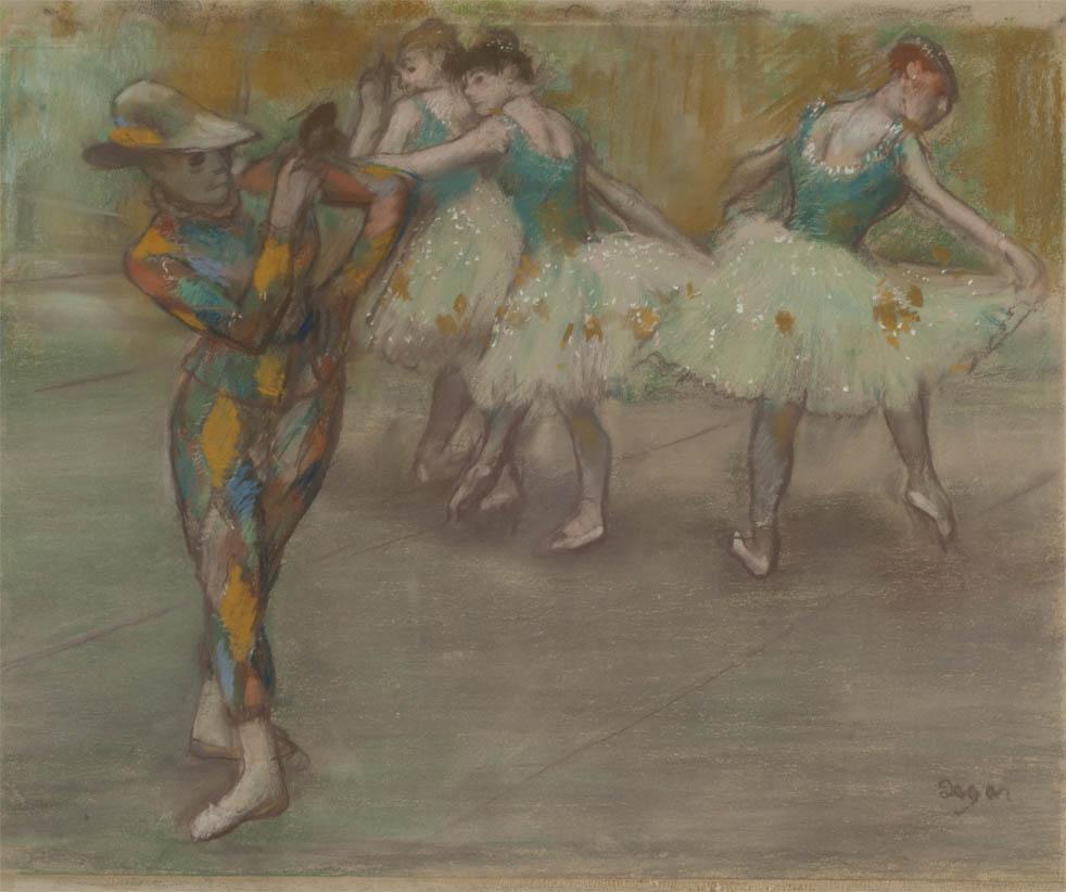 Arlequin danse (c 1890)