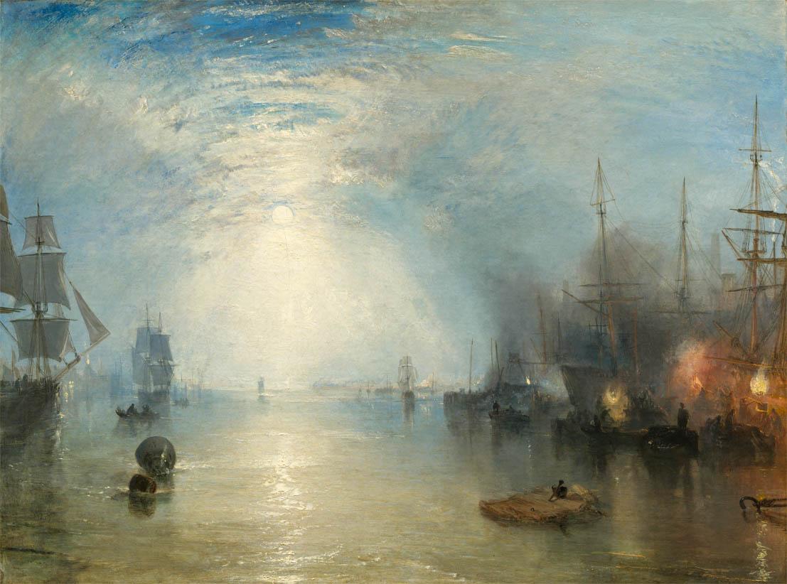 Keelmen Heaving in Coals by Moonlight (1835)