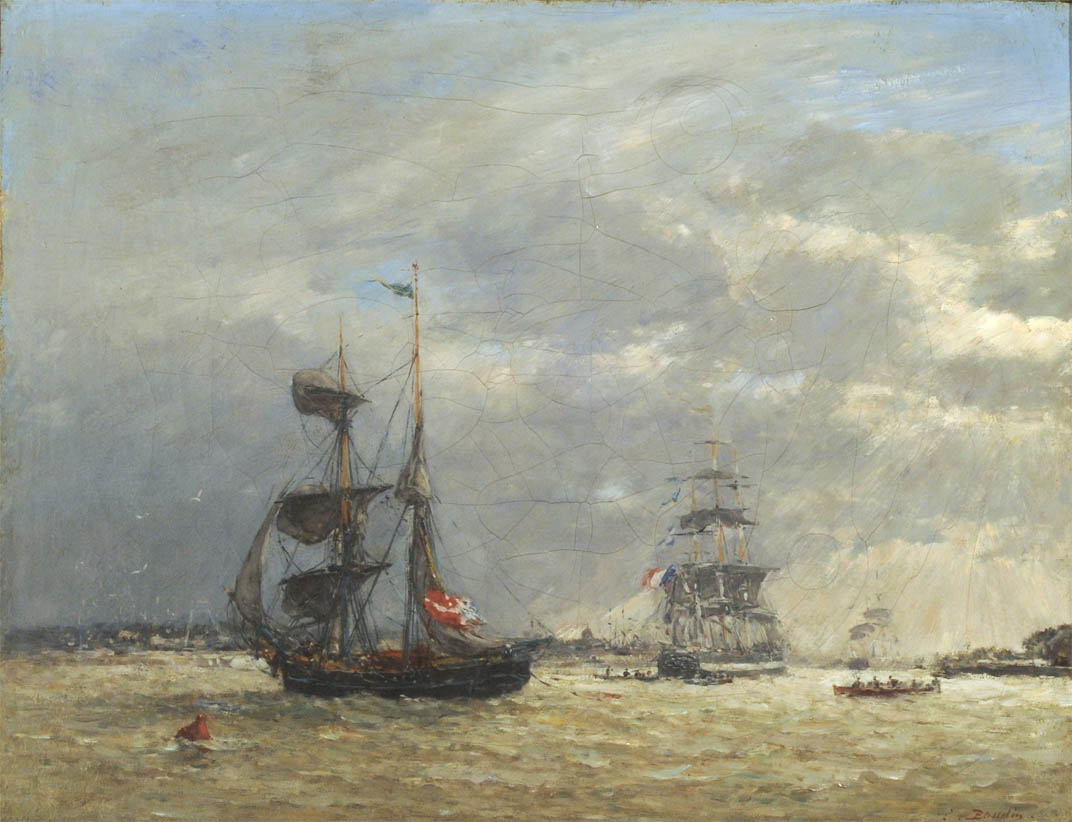 L'Escaut par temps orageux (1871-1874)