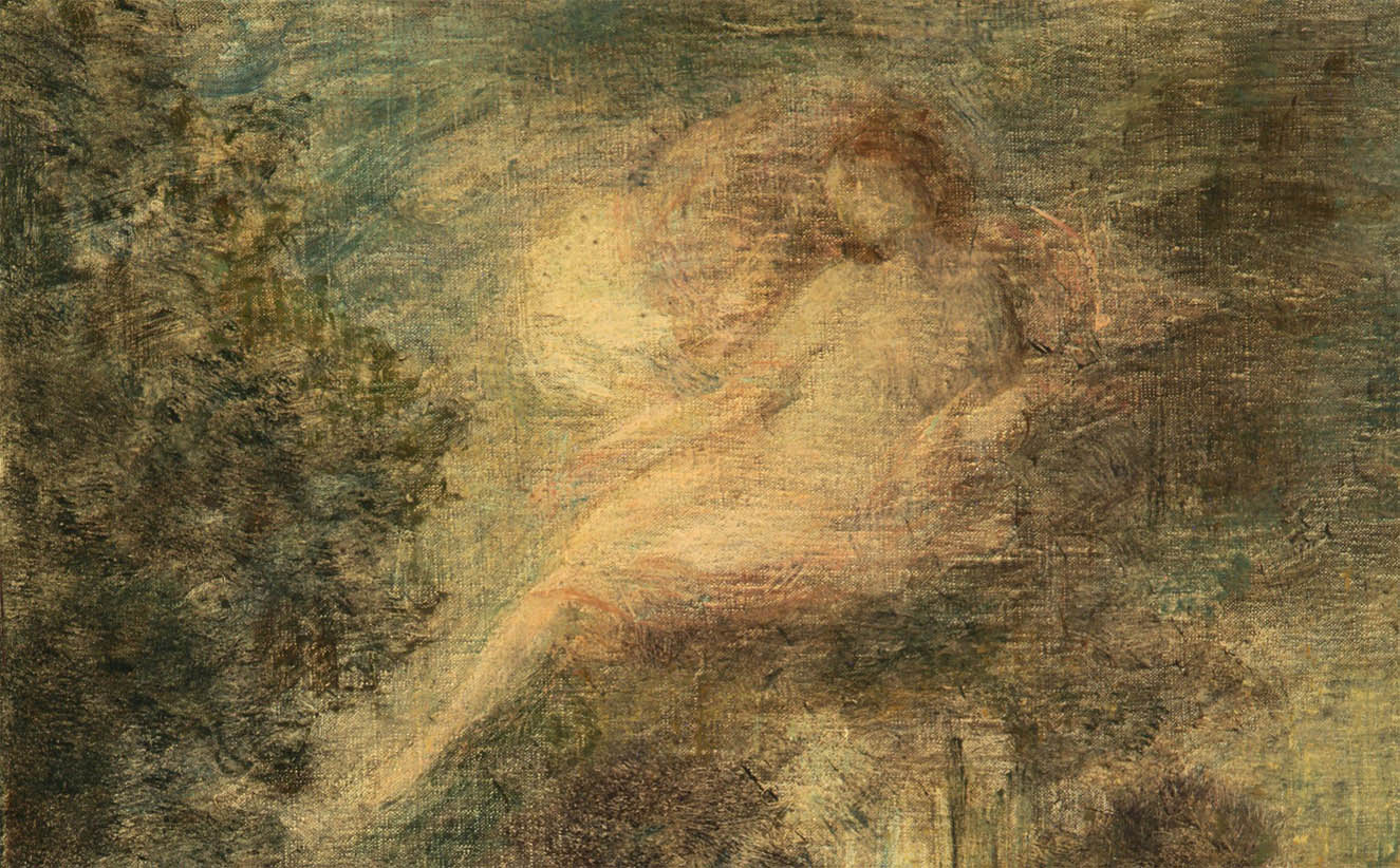 L'Evocation, Solitude (1904-d-1)