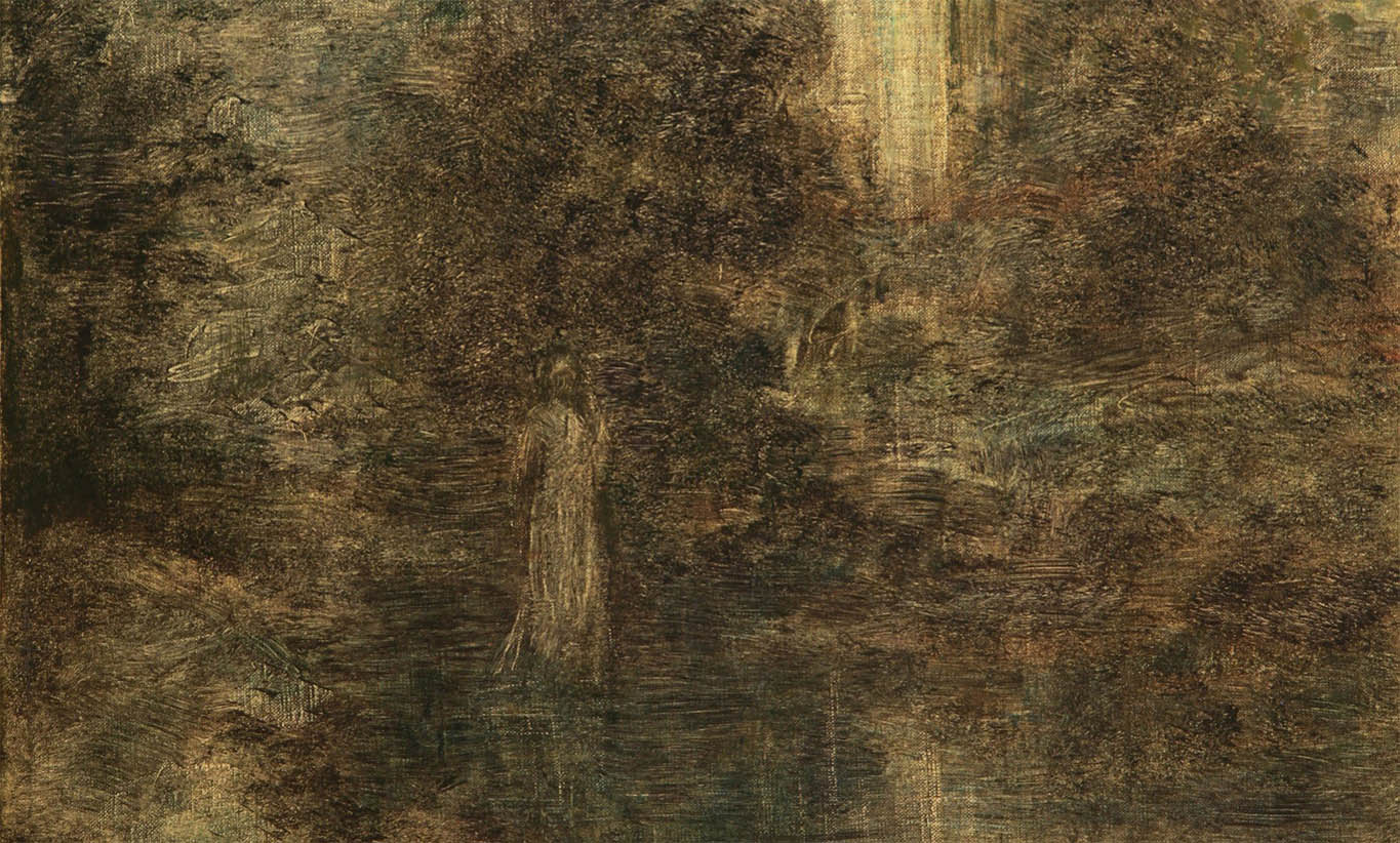 L'Evocation, Solitude (1904-d-2)