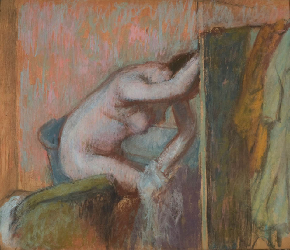 La Toilette apres le bain (c 1888)