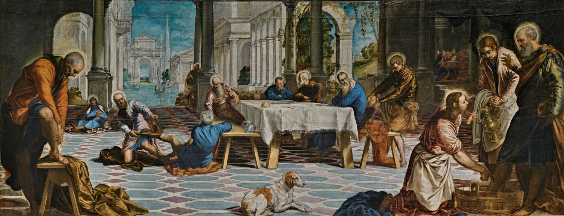 Lavanda dei piedi (1548-1549)