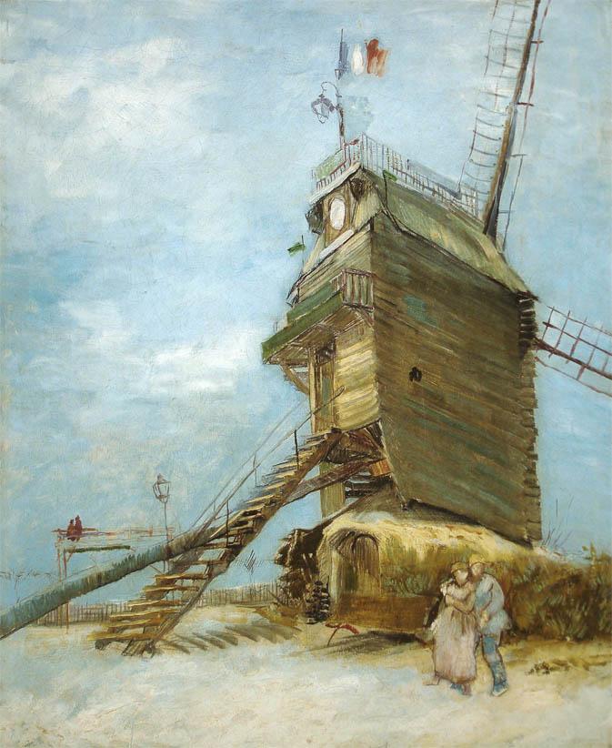 Le Moulin de la Galette (1886-1887)