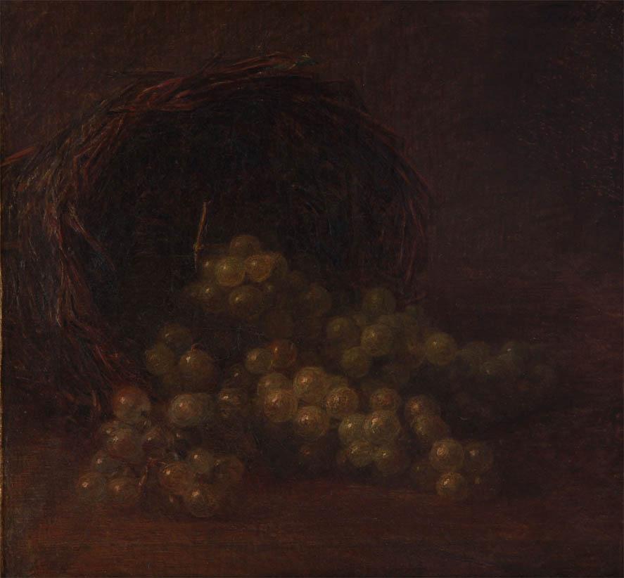 Le panier de raisin