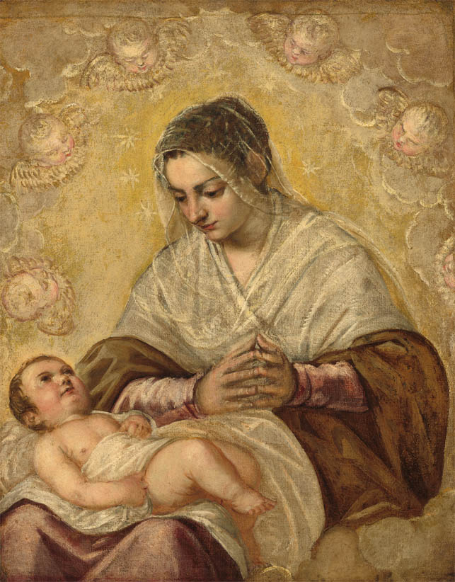 Madonna delle stelle (2nd half of the 16th century)