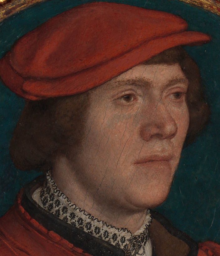 Portrait of a Man in a Red Cap (1532-1535-d-1)