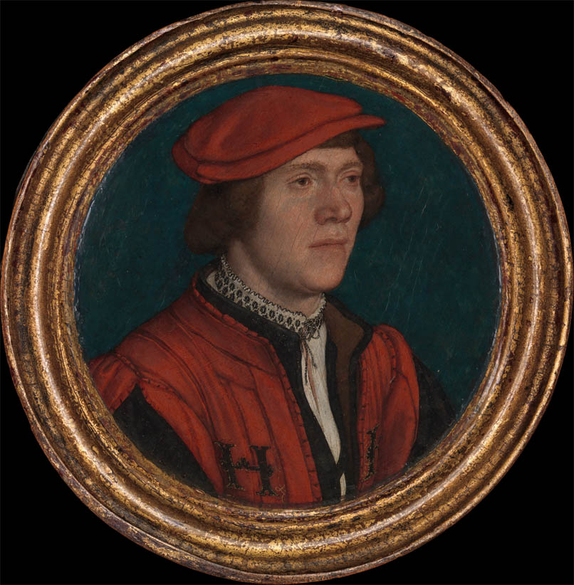 Portrait of a Man in a Red Cap (1532-1535)