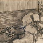 Preparatifs de Ballet, La Contre Basse (1887)