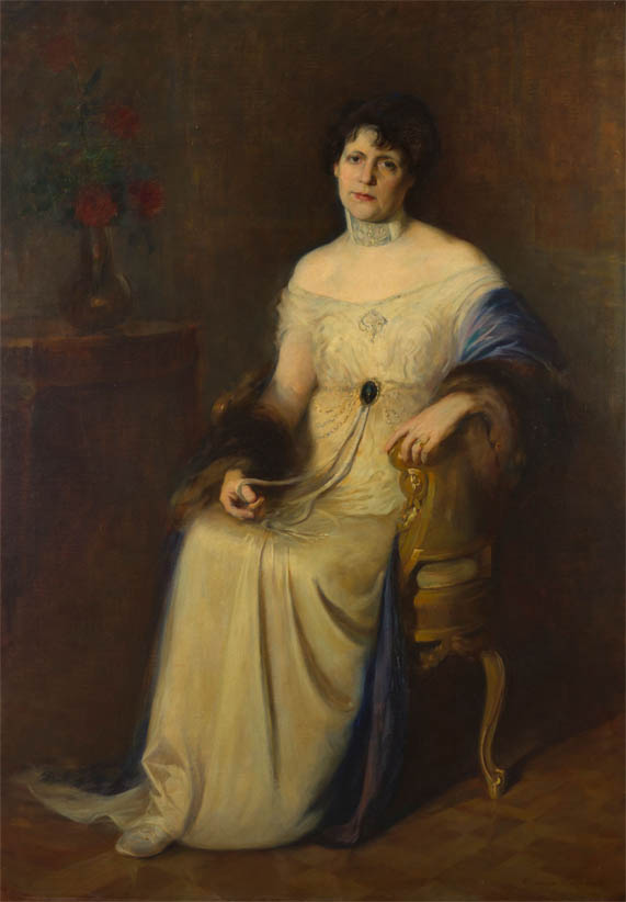 Retrato de la esposa del autor (1914)