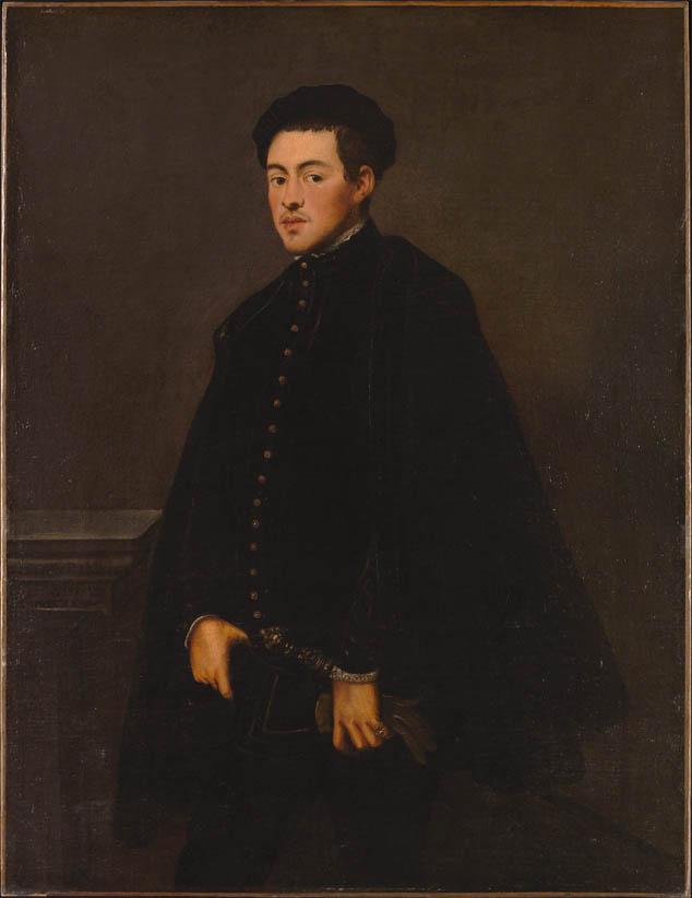 Ritratto di giovane uomo (1551)