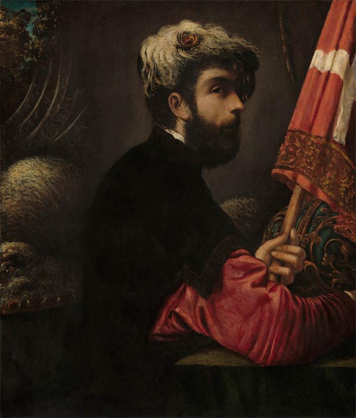 Ritratto d'uomo in veste di san Giorgio (1540-1550)