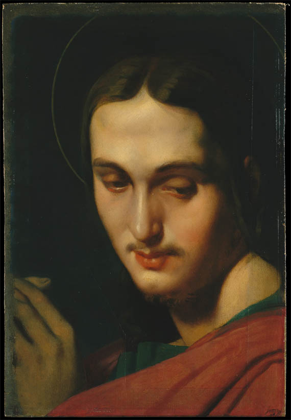 Tête de saint Jean l'Evangéliste (sd)