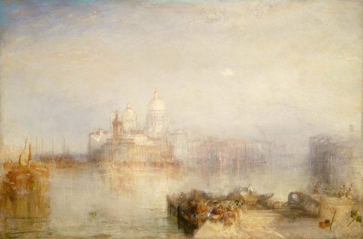 The Dogana and Santa Maria della Salute, Venice (1843)