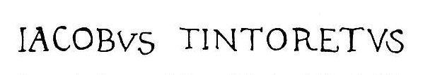 Tintoretto_autograph