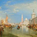 Venice, The Dogana and San Giorgio Maggiore (1834)