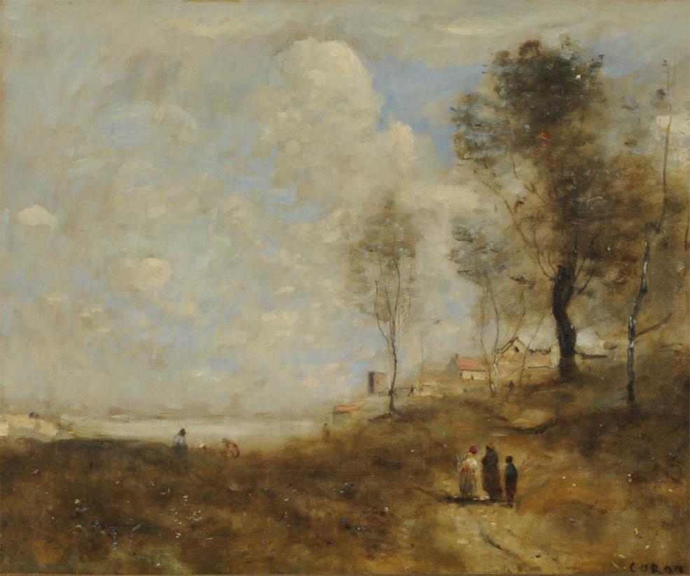 Ville d'Avray, Paysage et figures