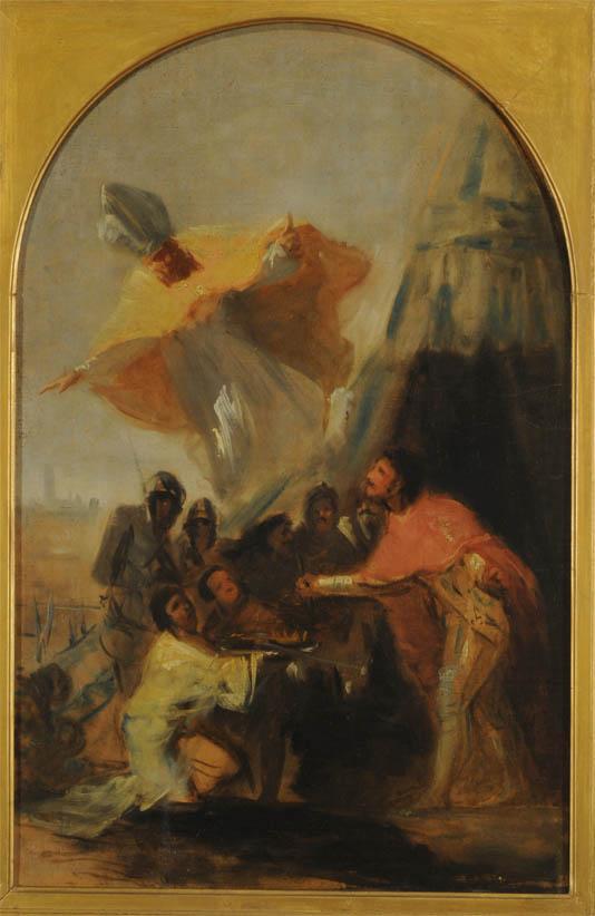 Aparición de San Isidoro al Rey Fernando el Santo (1798-1800)