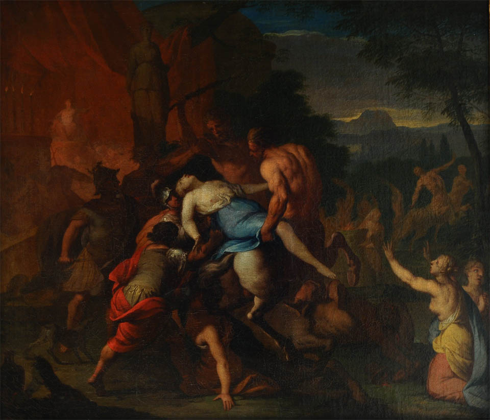 Battle of Centaurs and Lapiths