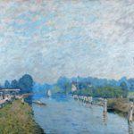 Bords de rivière, La Tamise à Hampton Court, premiers jours d'octobre
