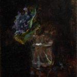 Bouquet de violettes dans un vase (1882)