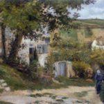 Chemin à l'Hermitage (1874)