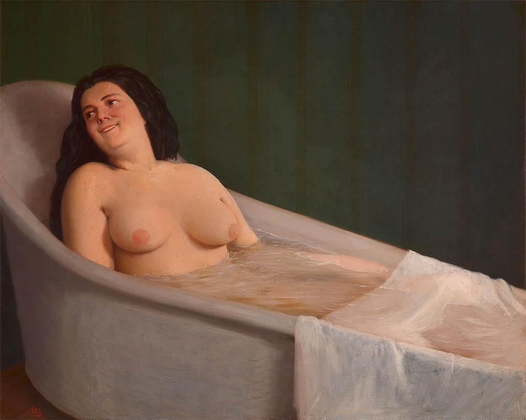 El baño (1865)