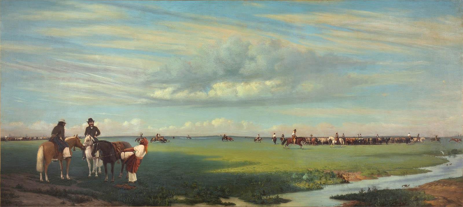 El rodeo (1861)