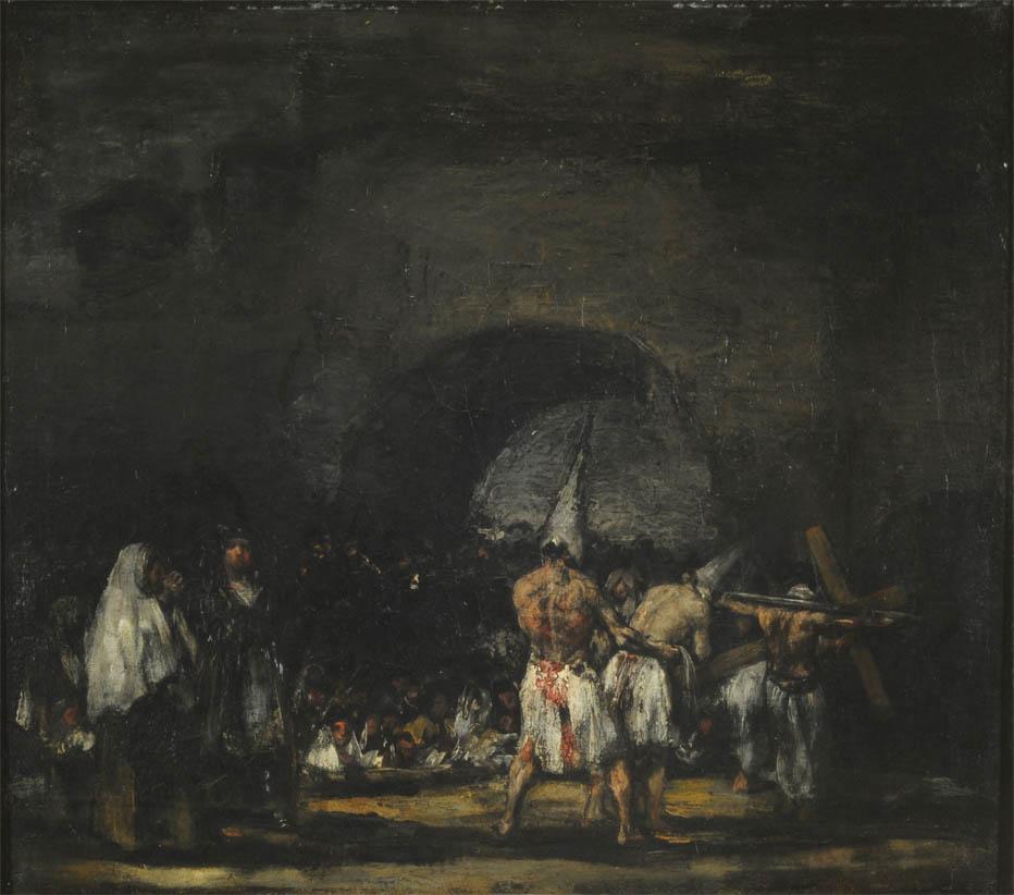 Escena de disciplinantes (1808-1812)