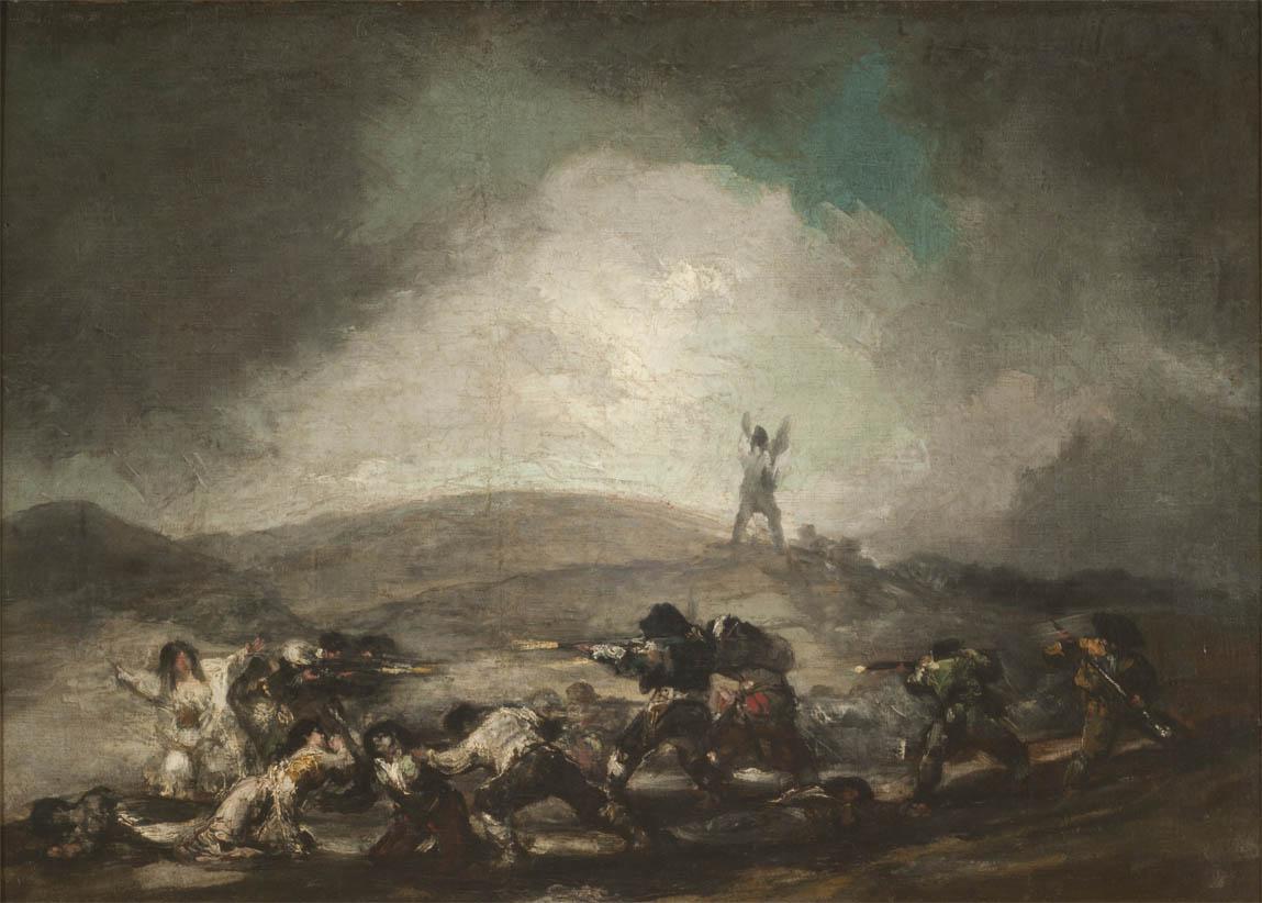 Escena de guerra (1808-1812)