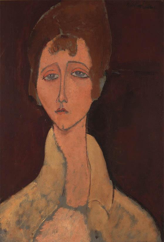 Femme au corsage blanc (1917)