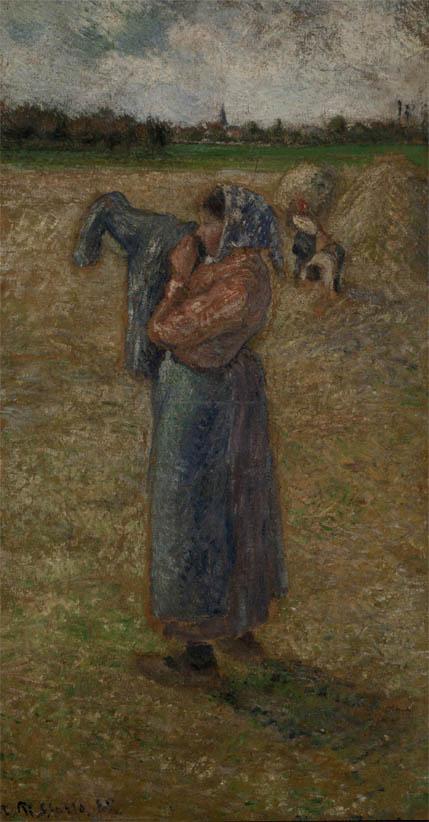 Femme aux champs (1882)