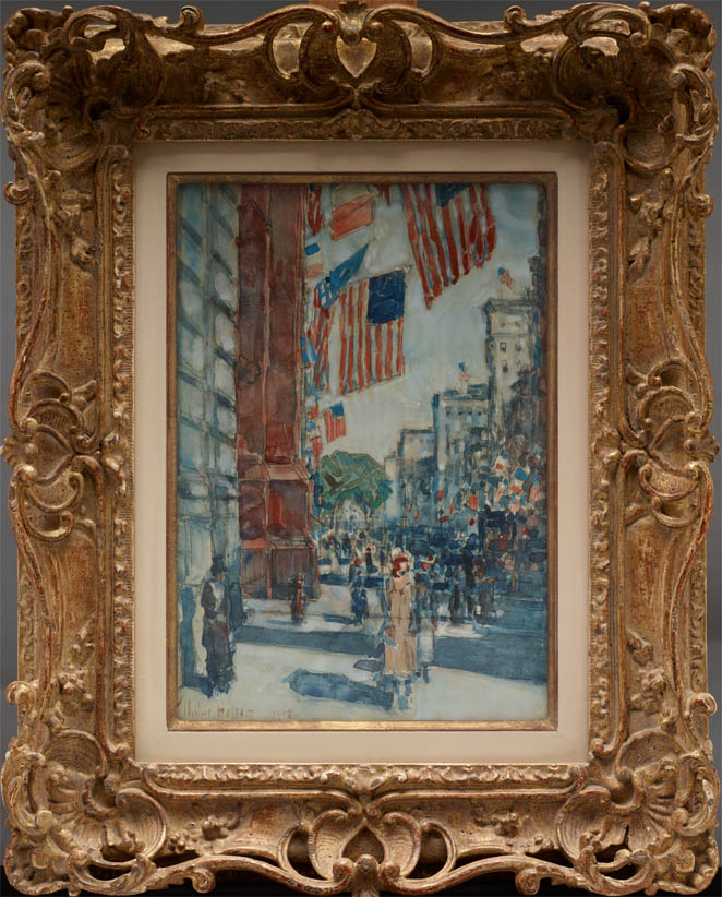 Flags, Fifth Avenue (1918-fr)