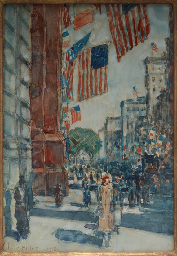 Flags, Fifth Avenue (1918)
