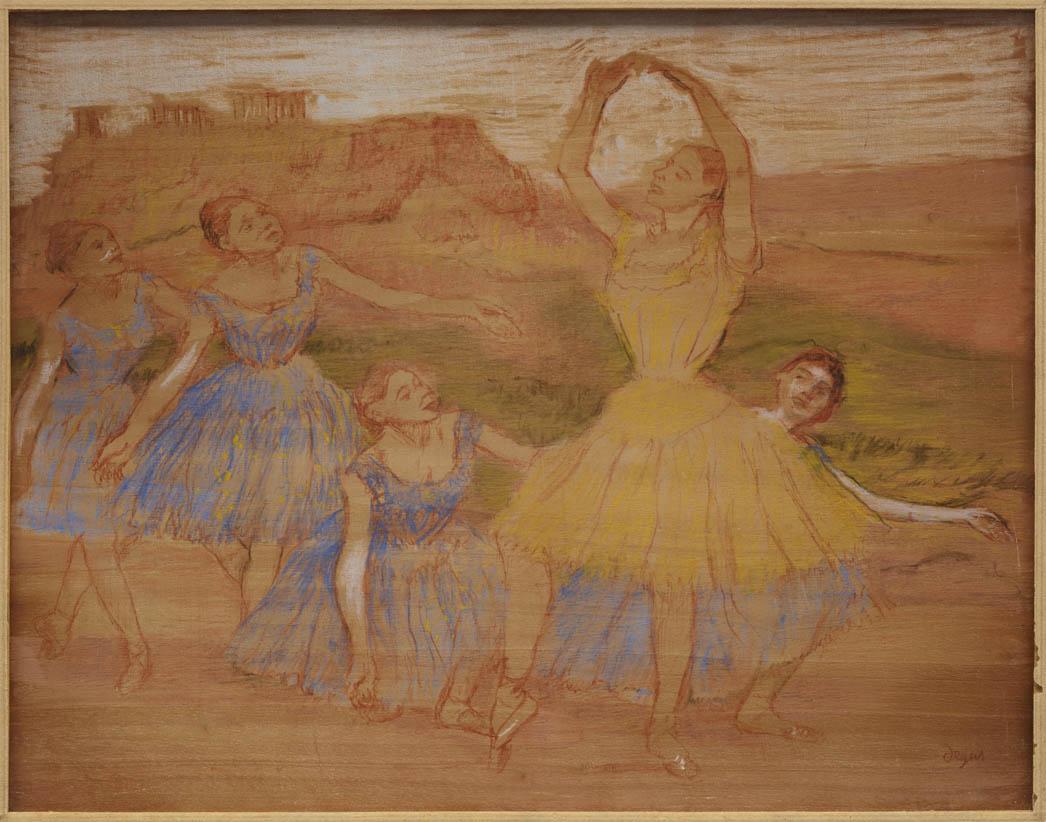 Groupe de danseuses (1895-1897)
